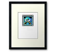 Air Man Framed Print