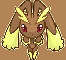 Lopunny by Eat Sleep Poke Repeat