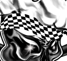Baker Skull 5: Killer Baker and Crossed Whisks Sticker