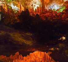 Carlsbad Caverns Reflection by Mark Ramstead