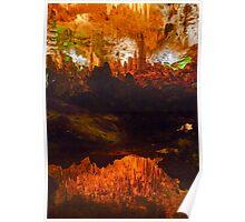 Carlsbad Caverns Reflection Poster