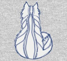 Snow Cat One Piece - Short Sleeve