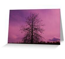 heavenly shades Greeting Card