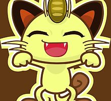 Meowth by gizorge