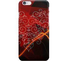 The single irregular beat of my aching heart iPhone Case/Skin