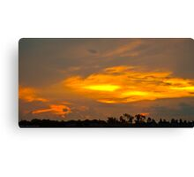 Sunset at Iguaçu Canvas Print