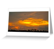 Sunset at Iguaçu Greeting Card
