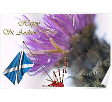 Happy St. Andrew's Day Poster