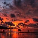 Sunset fire by Robyn Lakeman