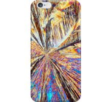 Rare Elements: Holmium nitrate under the microscope iPhone Case/Skin