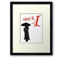Withnail & I - I have of late, but wherefore I know not, lost all my mirth. Framed Print