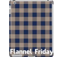 Flannel Friday iPad Case/Skin