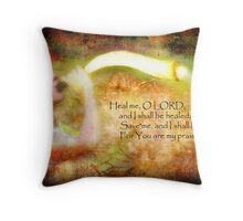 The Sound of Deliverance Throw Pillow