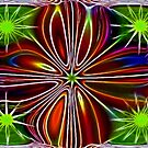 Star Abstract by Virginia N. Fred