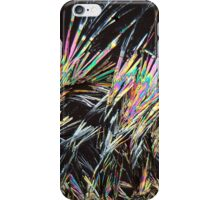 The body of perfum: Coumarin crystals under the Microscope iPhone Case/Skin
