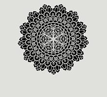 Geometric Mandala Womens Fitted T-Shirt