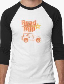 Road Trip in a Jeep Men's Baseball ¾ T-Shirt