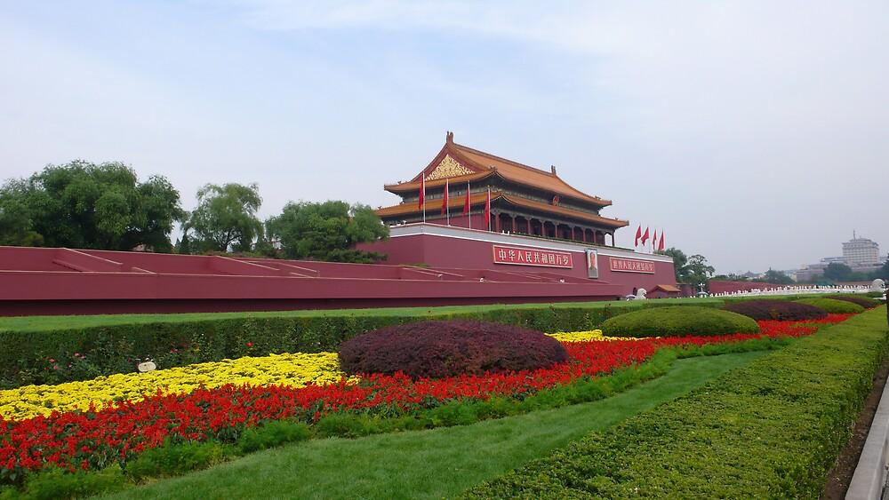 Tiananmen Square by bluemobi