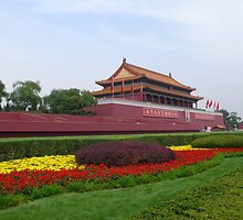 Tiananmen Square by bluemobi