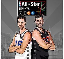 PAU & MARC - All Star NYC 2015 - SMILE DESIGN by fgcsmile