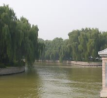 Summer Palace river, Beijing China by bluemobi