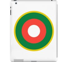 Roundel of the Malagasy Air Force  iPad Case/Skin