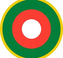 Roundel of the Malagasy Air Force  by abbeyz71