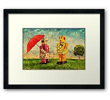 Lilliput & Venus Framed Print