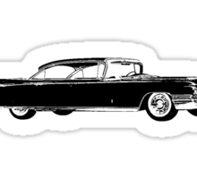 1960 Cadillac Sedan Sticker
