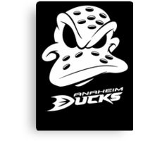New Anaheim Ducks custom Logo Canvas Print