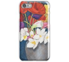 Jean's Flowers iPhone Case/Skin