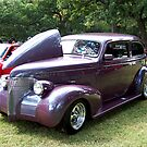 1939 Chevrolet 2 Door Sedan by Glenna Walker