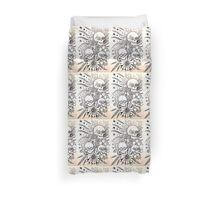 native indian tattoo inspired art Duvet Cover