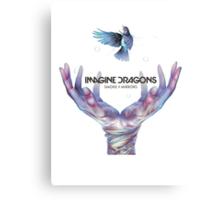 Smoke + Mirrors (Super Deluxe) - Imagine Dragons Canvas Print
