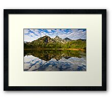 Heaven's Mirror Framed Print