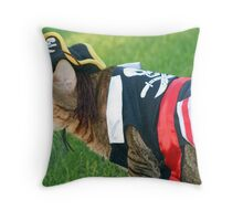 IT'S A PIRATES LIFE FOR ME!! Throw Pillow