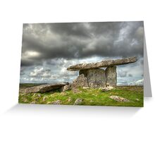 Stony Tomb Greeting Card