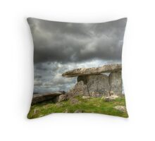 Stony Tomb Throw Pillow