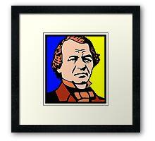 ANDREW JOHNSON Framed Print