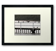 Hangin' Out To Dry Framed Print