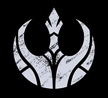 Rebels Segmented Logo (Grey on Black) by JoshBeck