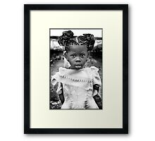 'Burberry Girl' HEAL Africa Hospital, Eastern Democratic Republic of Congo Framed Print