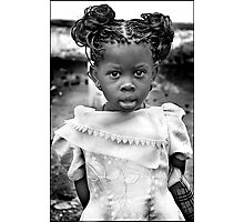 'Burberry Girl' HEAL Africa Hospital, Eastern Democratic Republic of Congo Photographic Print