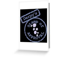 Derpy's Stamp Greeting Card