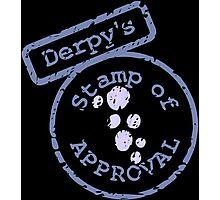 Derpy's Stamp Photographic Print