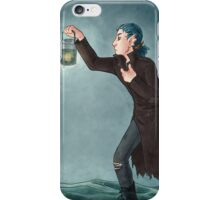 Toothy Tarot: Locust (The Hermit) iPhone Case/Skin