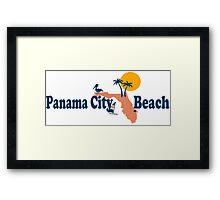 Panama City Beach - Florida. Framed Print
