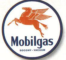 Mobilgas Mobil Oil Pegasus by TEEEEES