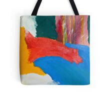 """Wild"" fine art modern abstract design Tote Bag"