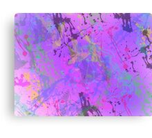 Boom Splat! Canvas Print